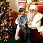 Find Santa at the Santa Claus Christmas Store and get your holiday wishes in early.
