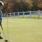 Perfect fall temperatures and beautiful autumn scenery make this course a top spot.