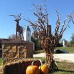 Special fall events such as 'All Hallows' Eve' and the 'Haunted Church' take place at the Santa Claus Museum & Village in October.