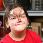 Face painting is popular for all ages!