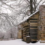 Walk through the winter woods at Indiana's first national park.
