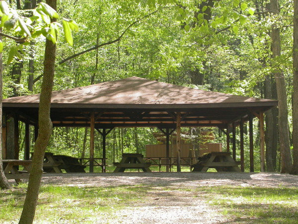 Lincoln State Park Shelter picnic