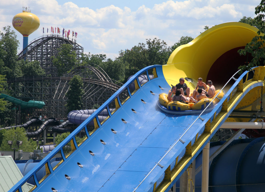 Mammoth Water Ride at Holiday World and Splashin Safari