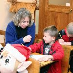 Write a letter to Santa in the original Santa Claus Post Office on site at the Santa Claus Museum & Village.