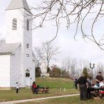 Tour the historic 1880s church along with other pieces of the town's history at the Santa Claus Museum & Village.