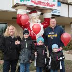 See how many Santa statues you can grab a photo with throughout town!