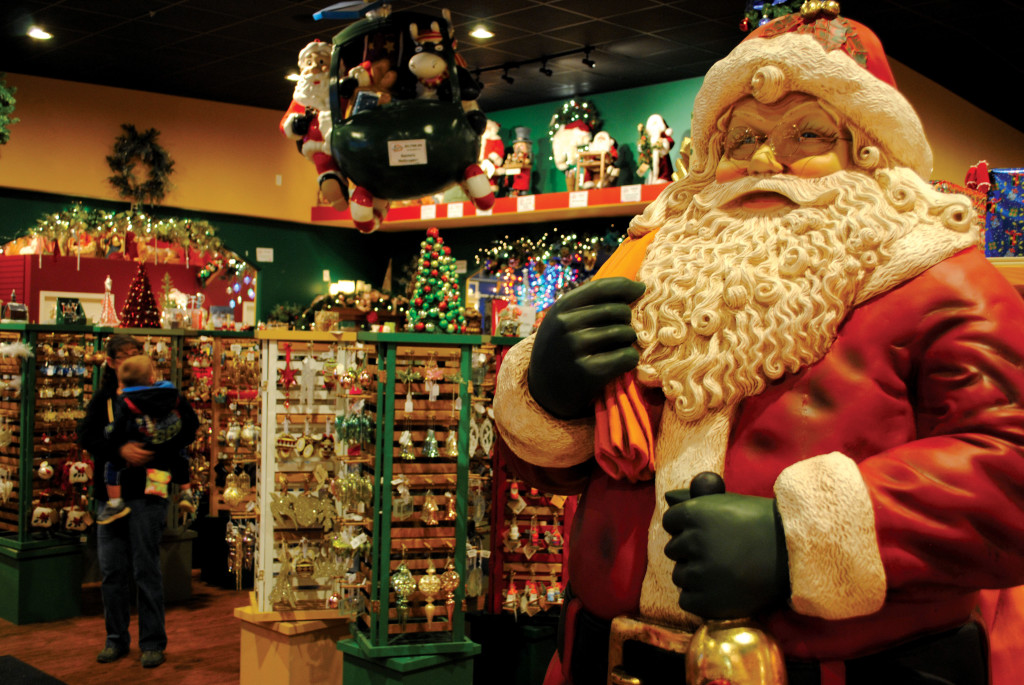 Santa claus christmas store in santa claus ind for The christmas shop