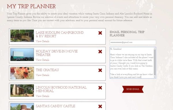Planner Feature