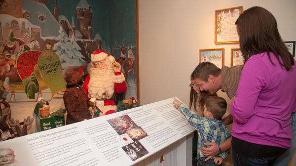 Santa Claus Museum Exhibit