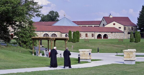 Monks at Archabbey