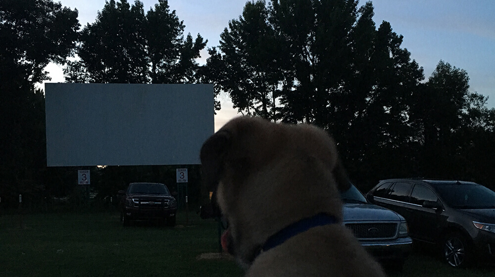 holiday drivein movie theater in reo indiana