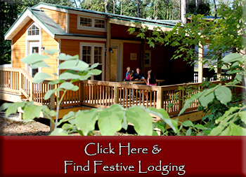Cabins and hotels in Santa Claus Indiana