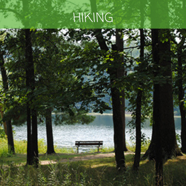 Hiking at Lincoln State Park for 5 things to do in summer