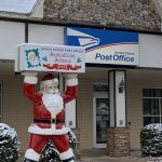 The only post office in the world with Santa's name. More than 22,000 letters were answered in 2018.
