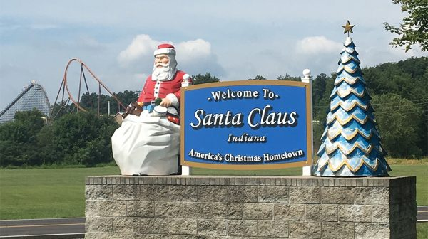 Welcome to Santa Claus Indiana