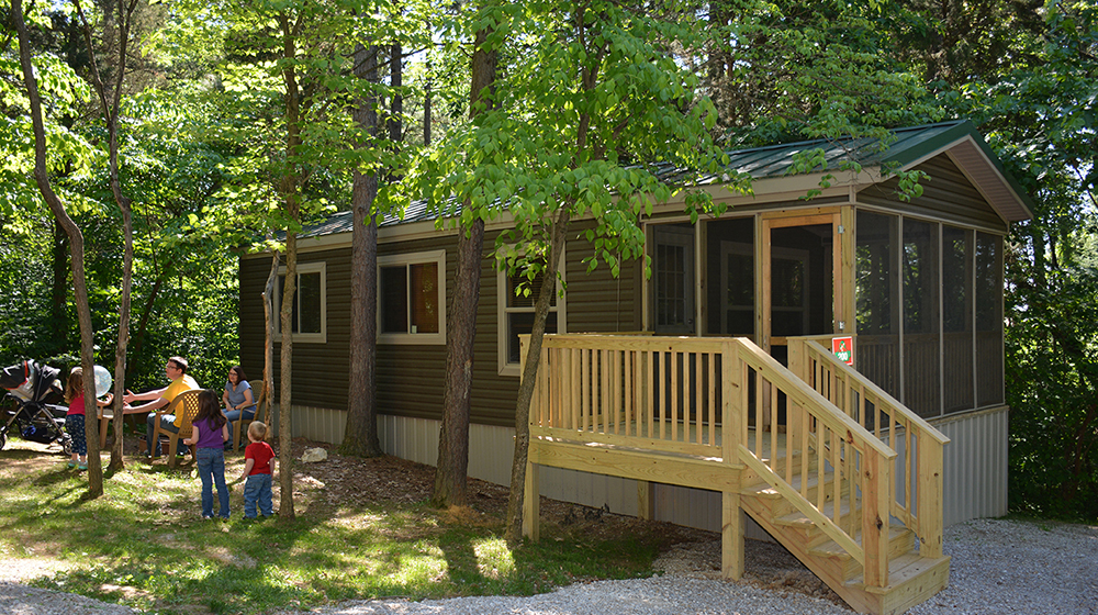 Lake Rudolph Campground and RV Resort Holiday Cottage