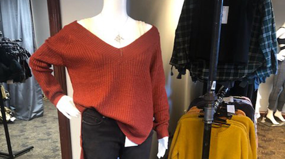Rayelle Collection Sweater Feature Photo Red