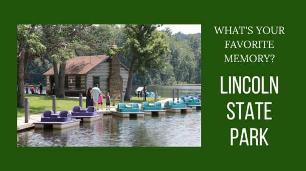 Lincoln State Park boathouse