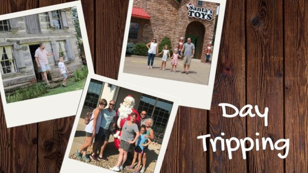 Vacation photos from day trips