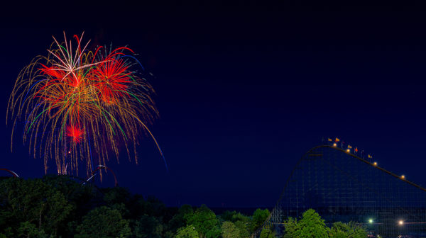Fireworks at Holiday World